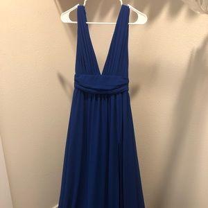 Lulus royal blue size XS dress